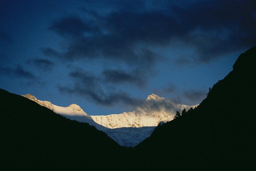 fotografie - Alpské svítání