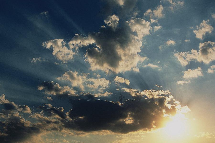 fotografie - Nebeské nokturno