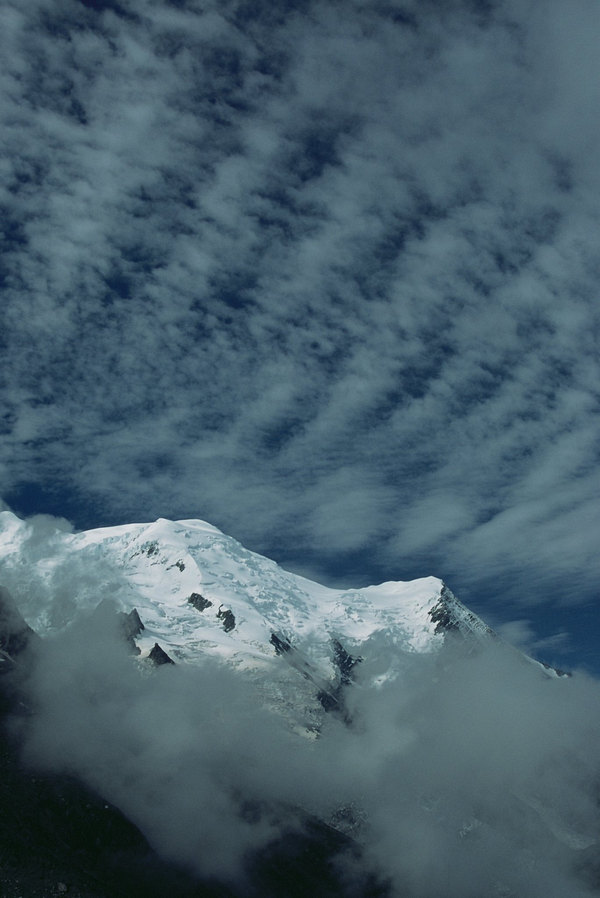 fotografie - Beránky nad Alpami