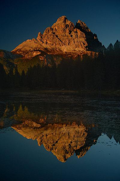 fotografie - Krajina v nebeské hlubině