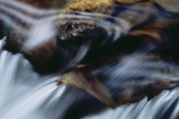 fotografie - Linie světla a vody