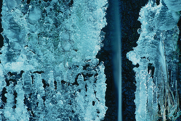 fotografie - Zimní proměny vody
