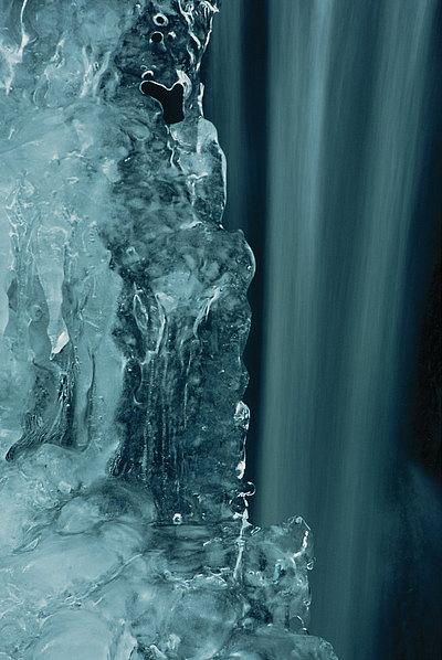 fotografie - Kontrasty vody